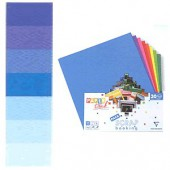Cardstock assortment, blue , 30 sheets 30.5x30.5