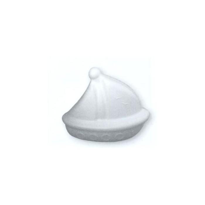 Styrofoam boat 13x16cm