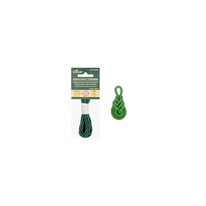 Asian Knot Cording, 1.8m/2.5mm, green