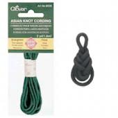 Cordelette pour noeuds asiatiques, 1.8m/2.5mm, gris