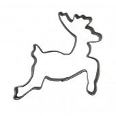 Clay cutter reindeer, 8x8cm