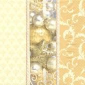 Napkin Goldene Weihnachten, 1 pce