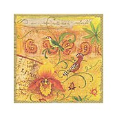 Napkin exotic birds, 1 piece