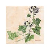 Napkin ivy and berries, 1 piece