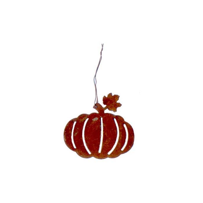 Deco pumpkins, 6.5cm, 4 pcs