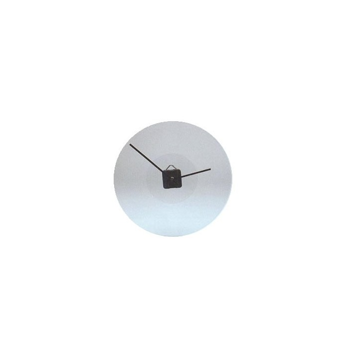 Glass clock Ø34cm