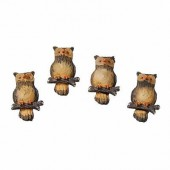 Owls 30mm, 4 pcs