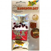 Decorative Accessoires stars gold-red