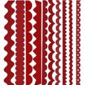 Bazzill Just the edge - Paper Ribbon Red Devil