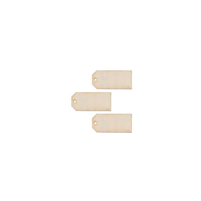 Artemio wooden tags, 3 pcs