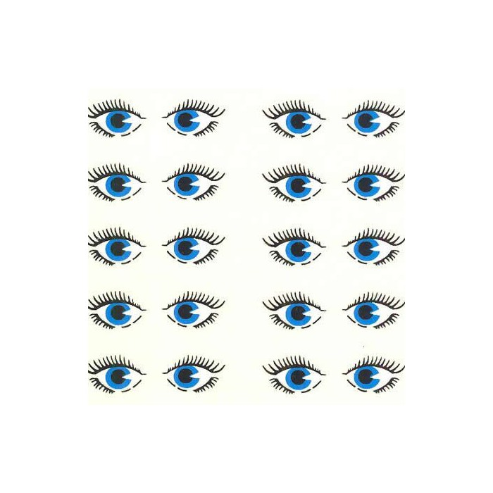 """Deco Images Transfers """"eyes"""", A4, 1 sheet"""