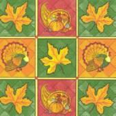 Napkin Autumn Patchwork, 1 piece