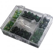 Fantasy beads green 170g