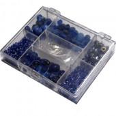 Kit perles fantaisie bleu 170g