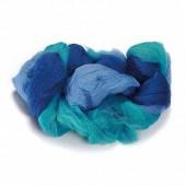 Sheep's wool, blue-mottled