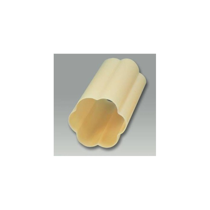 Cylindrical mold for soap, flower