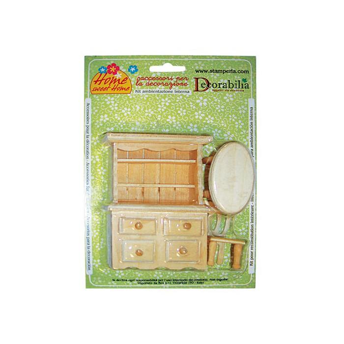 Meubles Miniatures Kit 1 Creaclicch