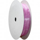 Organza ribbon 8mm/5m, pink