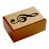 Rubberstamp music key