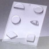 Moule formes diverses +/-5cm