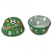 Paper baking cups maxi, Football