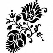 Stencil Baroque 20x25cm