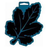 Big Foam Stamp, leaf 15x17cm