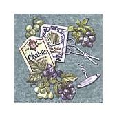 Napkin Chablis, 1 piece