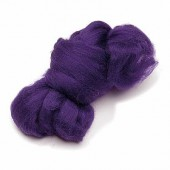 Felting wool, purple