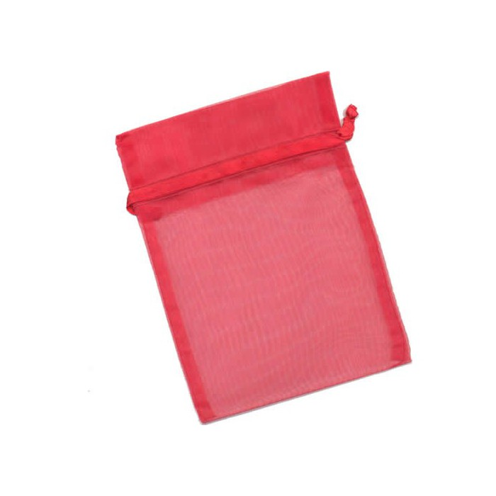 Gift-bag red 12x17cm