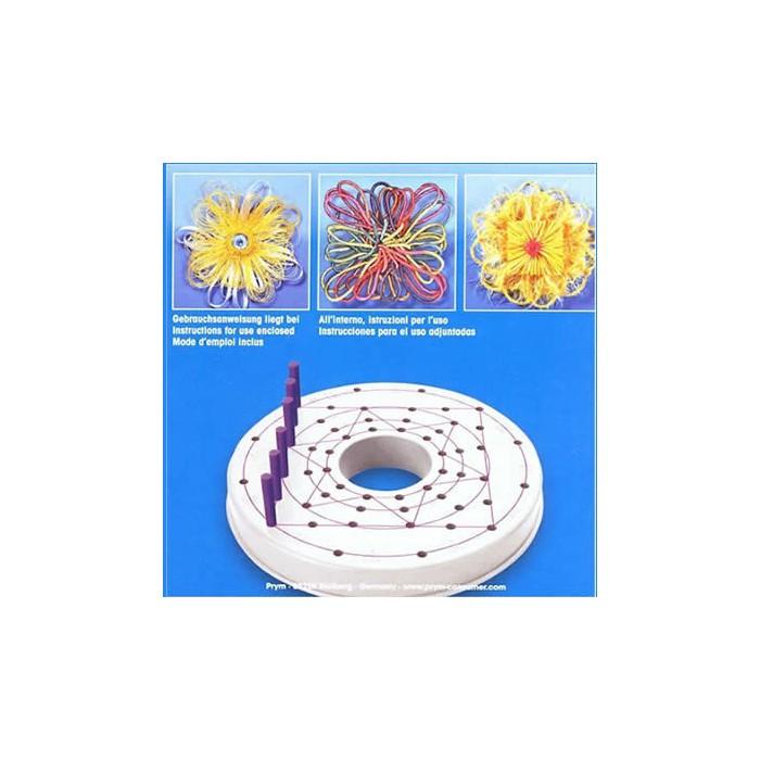 Flower loom, plastic