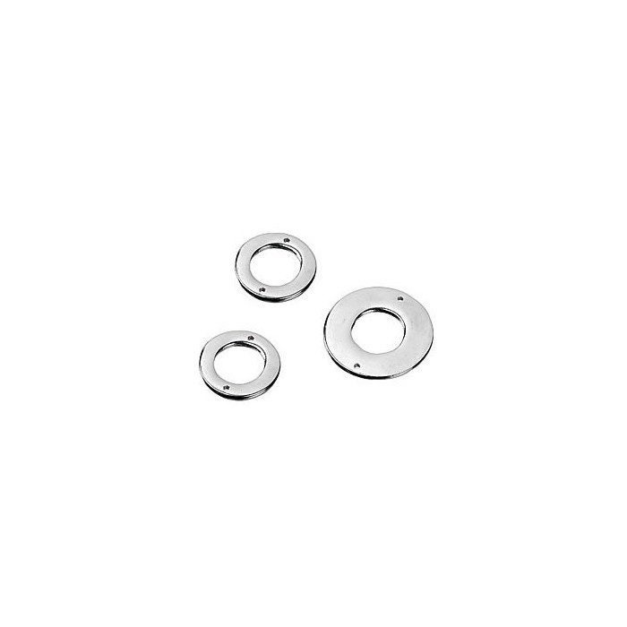 Metal parts mix, circle, 3 pcs