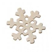 Flocons de neige contreplaqué, 45mm
