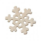 Plywood snowflakes, 45mm
