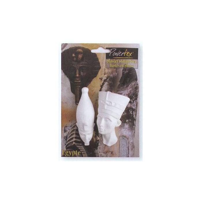 Plaster pharaos, 2 pcs