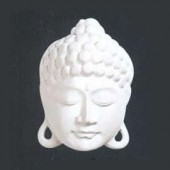 Bouddha en plâtre, 10x15cm
