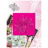 Embossing template flower 9x9cm