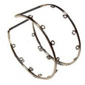 Bracelet métal Ø7cm