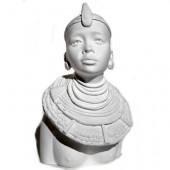 Buste femme Masai, 10cm