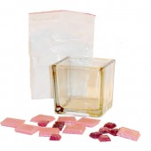 Mosaïc - Candle Jar Kit - pink