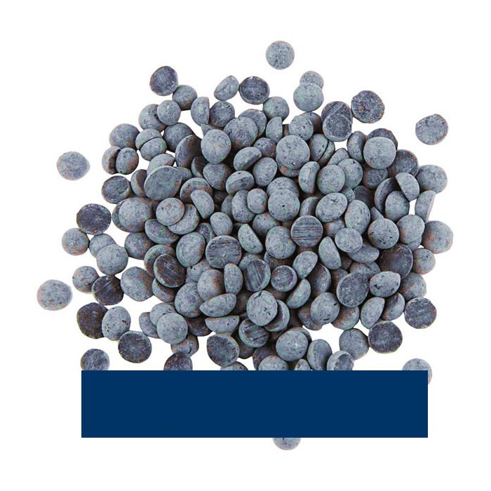 Wax and gel colour pigments, dark blue, 10g