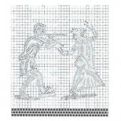 Pattern - Dancers 41x36cm