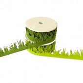 Ruban en feutre herbe, vert, 25mm/2m