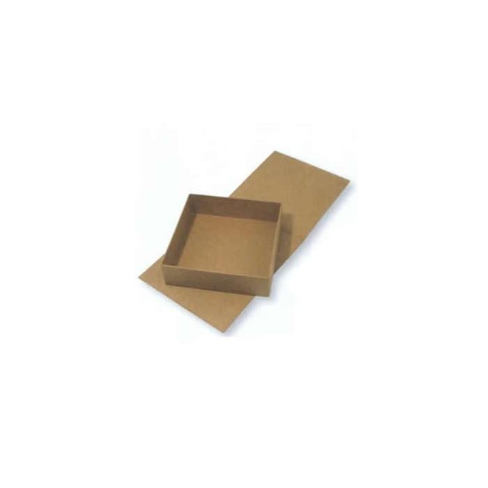 Flap lid box 13x12x3.5cm