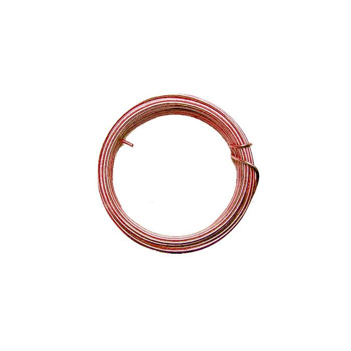 Alu wire, Ø 1.8 mm/50g, pink