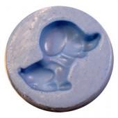 """Moule en silicone """"chien mini"""", Ø 4cm"""