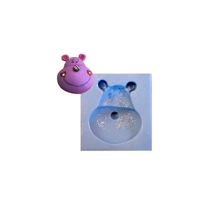 """Silicon mould """"country bear"""", 6cm"""
