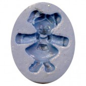 "Silicon mould ""girl"" 4cm"
