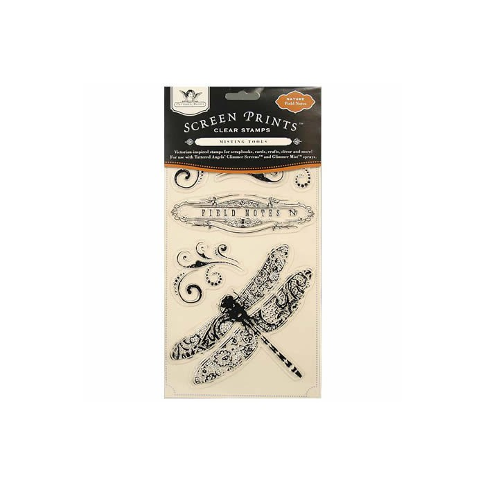 Clear stamps, Field Notes