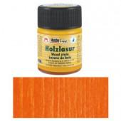Lasure pour bois, 50ml, orange